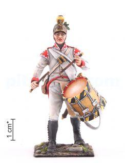 Τυμπανιστής. Γραμμή πεζικού Αυστρίας-Ουγγαρίας, 1805-1814