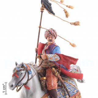 Mamluk with bunchuk. Ottoman Empire. XVIII century