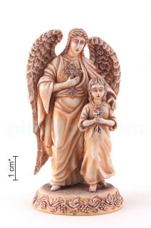 The guardian angel with the child