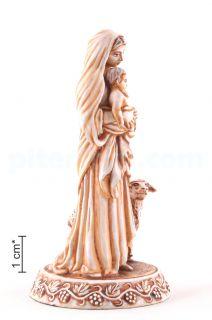 Пресвятая Богородица с Mладенцем и ягненком