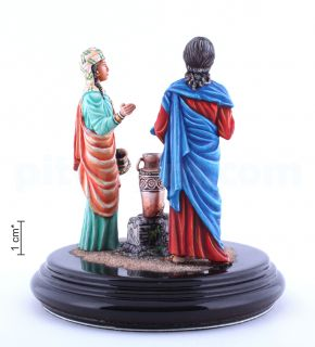 Meeting of Jesus with a Samaritan woman at the well