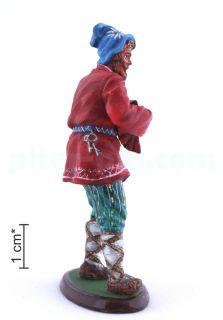 Русский мужик с балалайкой
