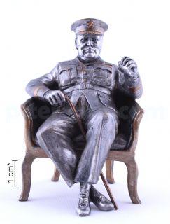 Уинстон Черчиль, премьер-министр Великобритании, 1943 год