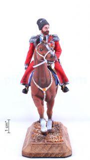 Император Николай II на коне