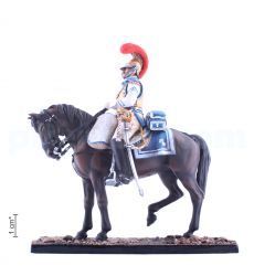Sergeant of the 1st carabinier regiment of the French heavy cavalry