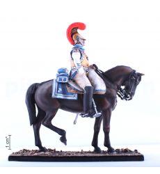 Сержант 1-го полка карабинеров французской тяжелой кавалерии