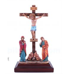 Crucifixion of Jesus Christ with upcoming