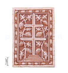 Плакетка «Крест - Виноградная лоза»