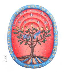 "Plaque ""Tree of Life"""