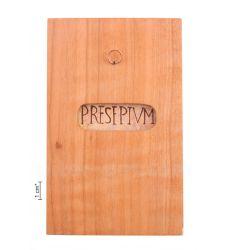 Plaque PRESEPIUM in the icon case